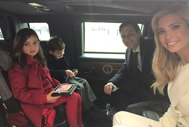 OP-ED: Are Ivanka and Jared Orthodox Despite Riding In a ...  Ivanka Trump Car